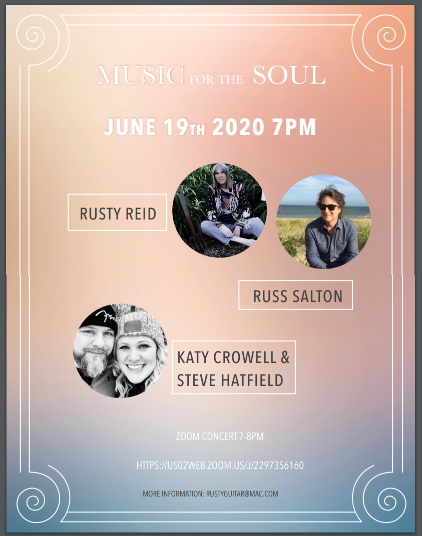 Rusty Reid, Music for the Soul Concert